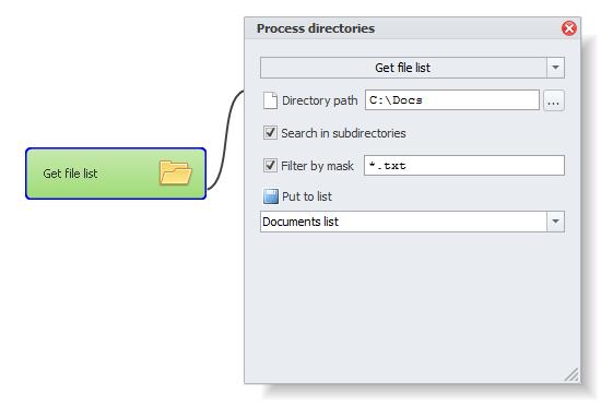ZennoPoster France en:actions:directories2 Travaillez avec des fichiers et répertoires (Files and directories)