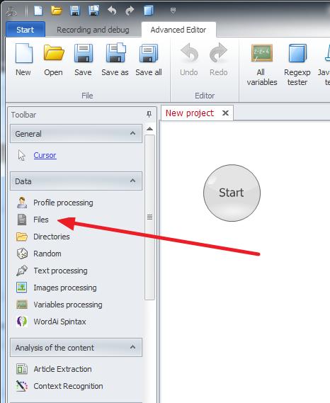 ZennoPoster France en:actions:file1 Travaillez avec des fichiers et répertoires (Files and directories)
