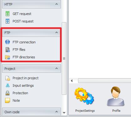 ZennoPoster France en:actions:ftp1 Travailler avec un FTP