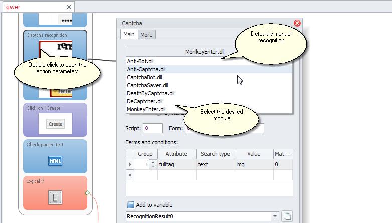 ZennoPoster France en:captcha_recognize_eng Reconnaissance CAPTCHA avec ProjectMaker