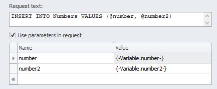ZennoPoster France en:database6 Utilisation / Intégration d'une base de donnée dans un projet