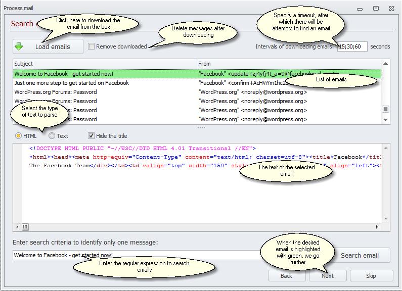 ZennoPoster France en:email_search_1_eng Traitement des emails (E-mail processing)